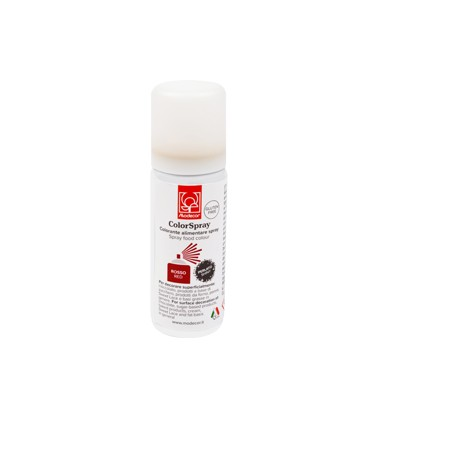 Colorante Spray ROSSO PERLATO 50 ml SENZA GLUTINE