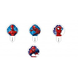 600 Cialdine per gelati Decoshape Spiderman