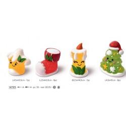 Soggetti zucchero 3d per decorazioni senza glutine