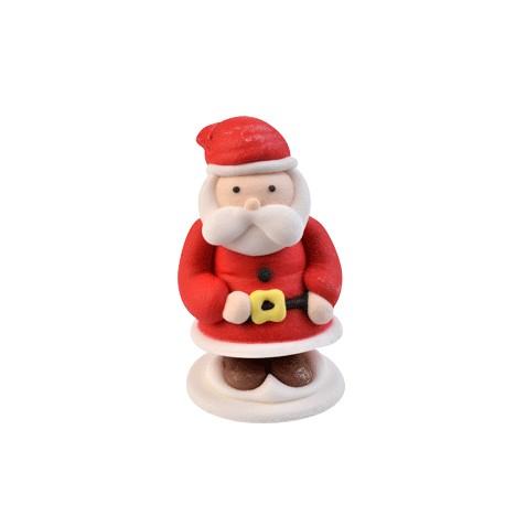 Babbo Natale con fibbia gialla