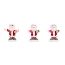 Babbo Natale allegro in zucchero 3d