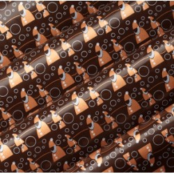 Trasferelli per bordi torte in cioccolato senza glutine