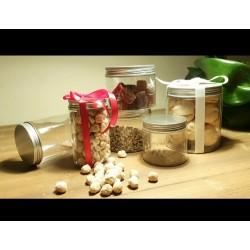 Barattolo trasparente da 400 ml per biscotti dolci al cucchiaio