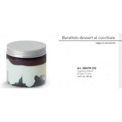 Barattolo trasparente 250 ml