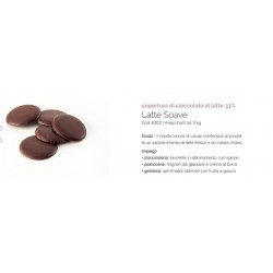 Cioccolato da copertura bianca kg 3