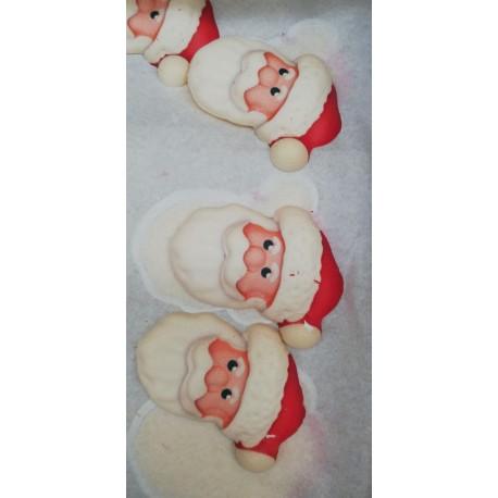 Faccine di Babbo Natale in Zucchero