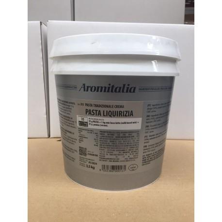 Paste per Gelato base latte gusto Liquirizia