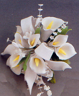 realizzazione fiori pasta di zucchero